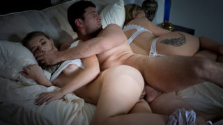 FamilyStrokes – Stepdad comfort scared daughter