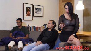 SexMex – Pamela Rios Sons Horny Friend