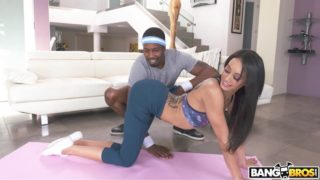 BangBros – Stretching For The Big Black Dick