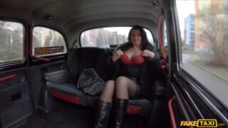 FakTaxi – French MILF in Red Lingerie
