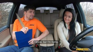 FakeDrivingSchool – Learner Bent Over and Fucked